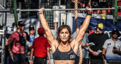 crossfit athlete lauren fisher eats zone diet