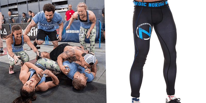 Crossfit Nordic wearing northern spirit tights