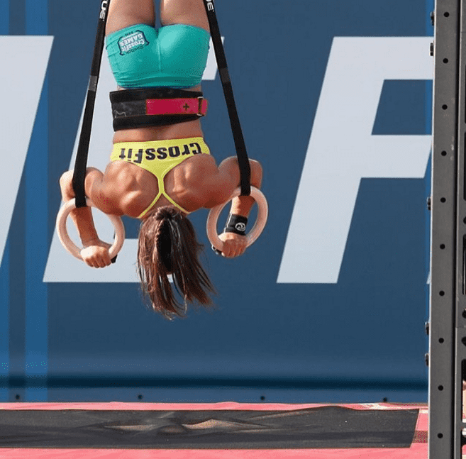 ring handstand push ups camille leblanc-bazinet