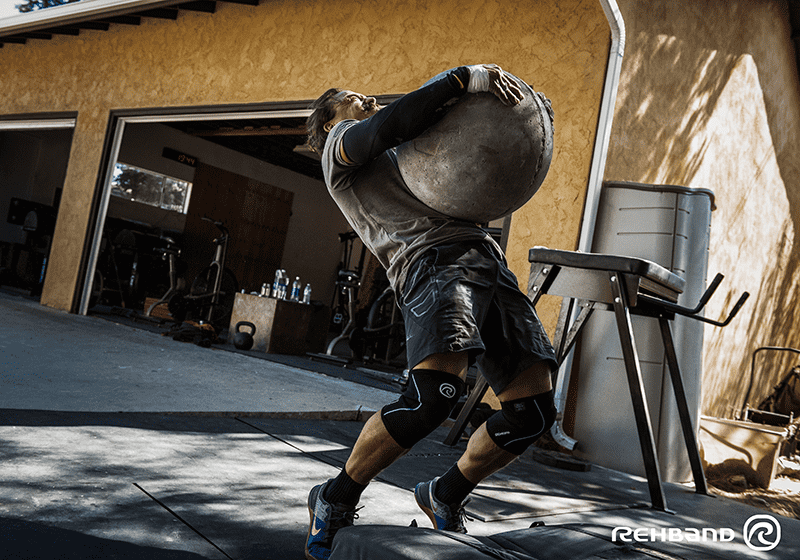 josh bridges crossfit athlete atlas stones wod