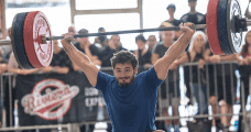 Mat fraser crossfit games winner 2016 snatch lift