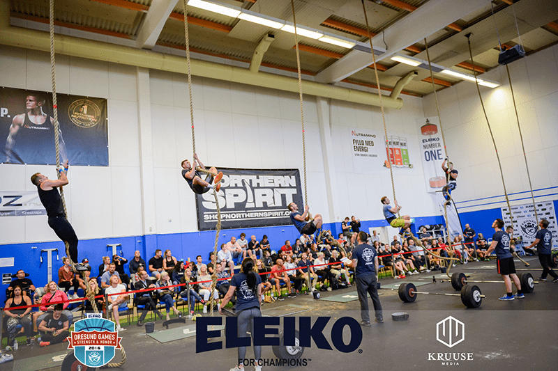 Oresund Games Rope climbing crossfit event