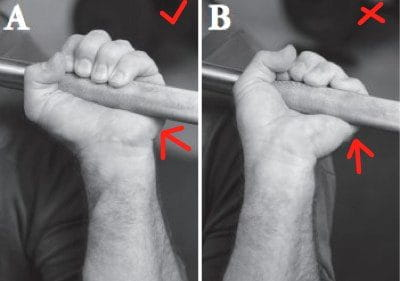 grip for the overhead press