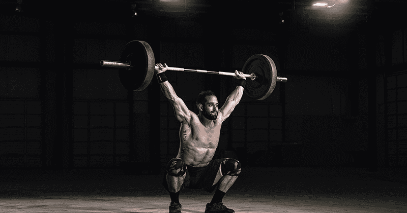 Rich Froning snatch workout