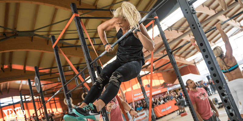 sara sigmundsdottir bar muscle up
