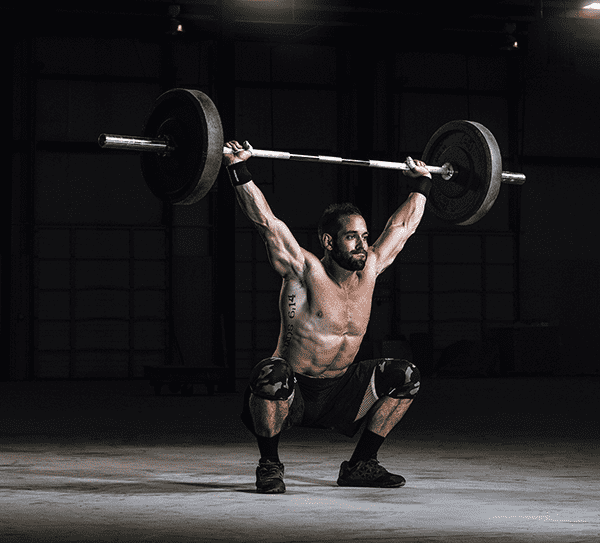 rich froning crossfit games winner snatch lift