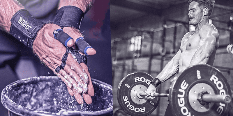 hand rips crossfit athlete training