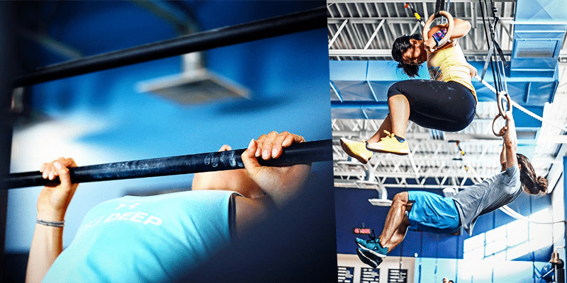 muscle ups crossfit workout