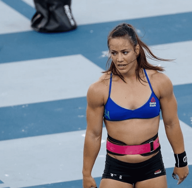 camille leblanc-bazinet competes at crossfit games