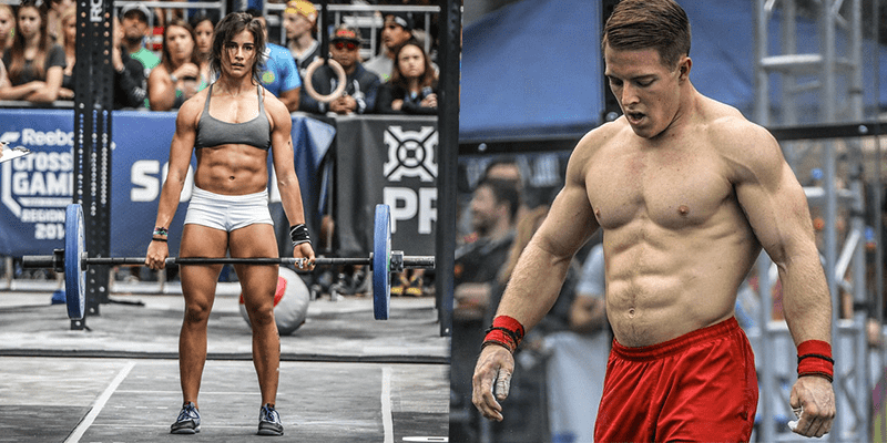 lauren fisher noah ohlsen crossfitt six pack abs
