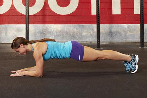 crossfit exercises plank six pack abs