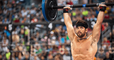 rich froning over head press