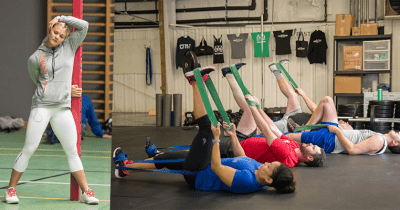 crossfit stretching exercises