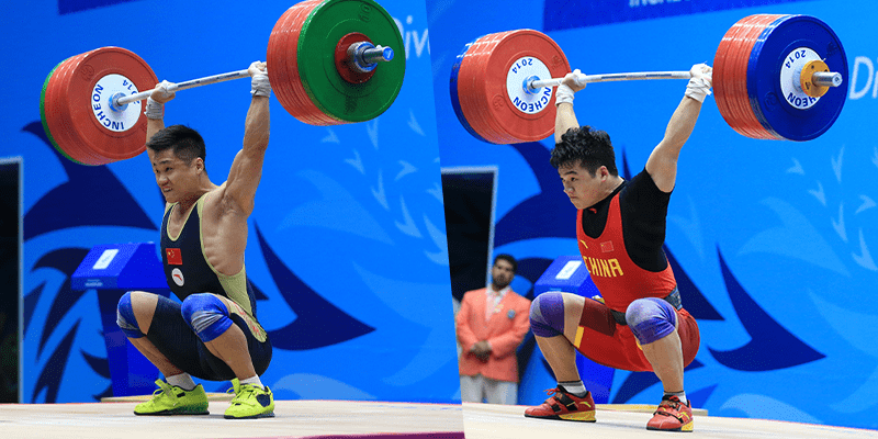 Image result for chinese overhead squat