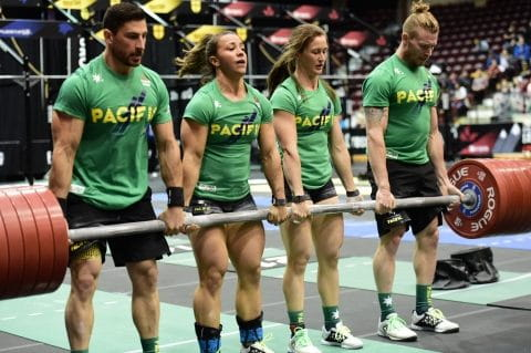 2016 crossfit team invitational pacific team