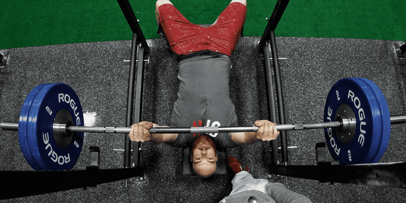 male athlete chest workouts