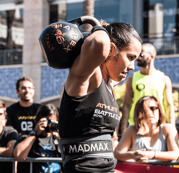 kettlebell workouts female athlete