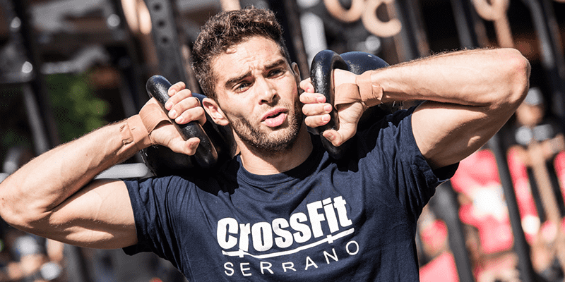 kettlebell workouts male crossfit athlete
