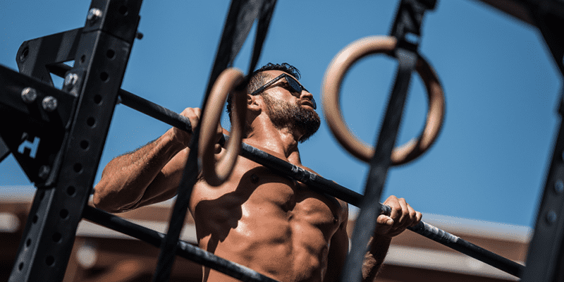 pull ups crossfit athlete