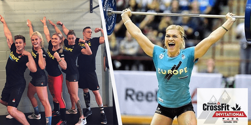 Katrin davidsdottir and the european team