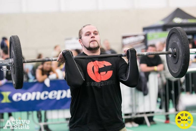 first crossfit competition