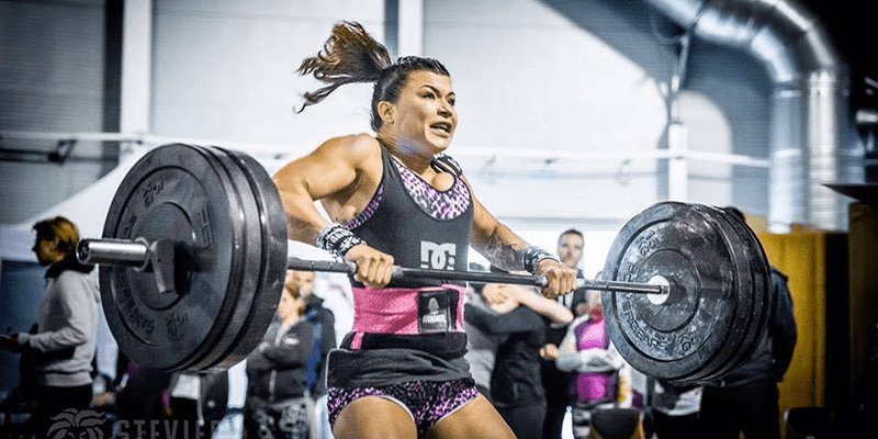 pain cave crossfit female athlete