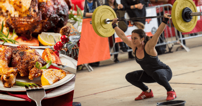 paleo christmas dinner crosfsit athlete snatch