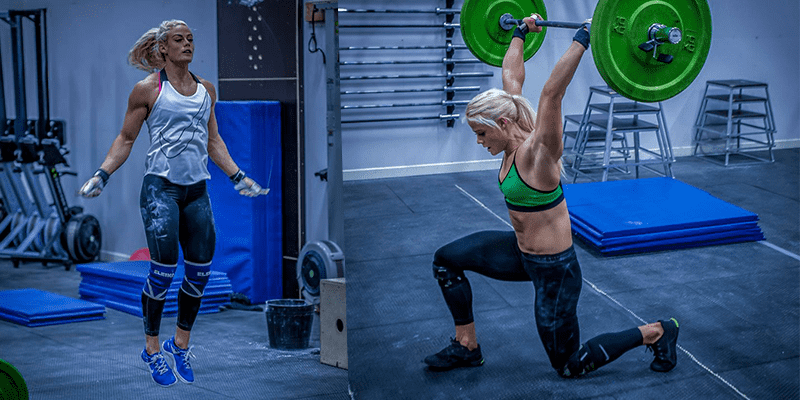 female crossfitters sara sigmundsdottir