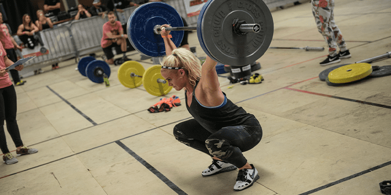 5 Inspiring Lifts from Crossfitter Sara Sigmundsdottir