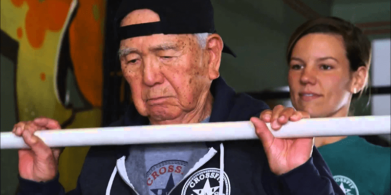 Meet Kamiechi Yawata the 101 yr old Crossfitter