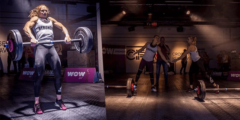Epic Workout Battle Between Annie Thorisdottir & Katrin Davidsdottir