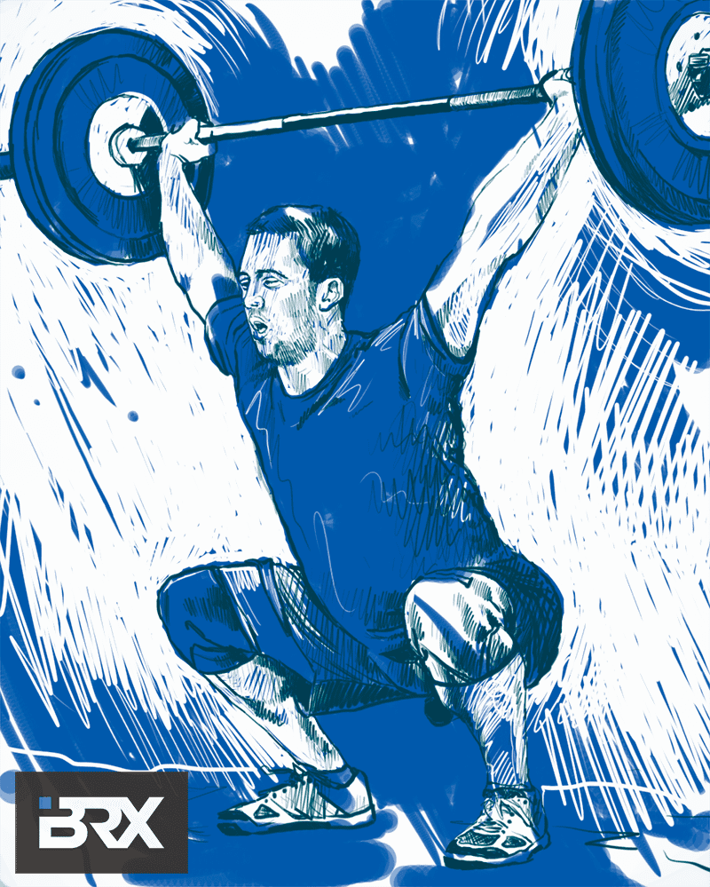 ben smith crossfit games athlete artwork portrait
