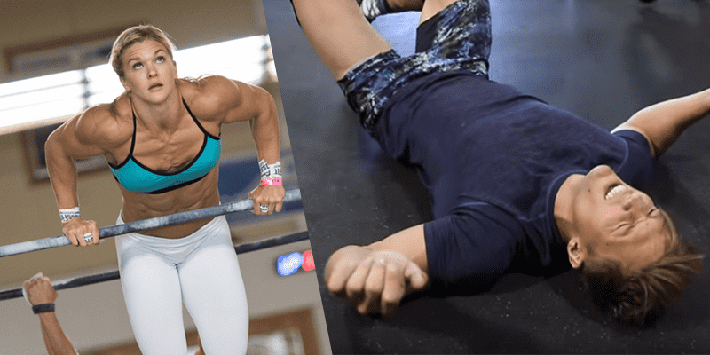 Brooke Ence puts Bodybuilder through his First Crossfit Workout!