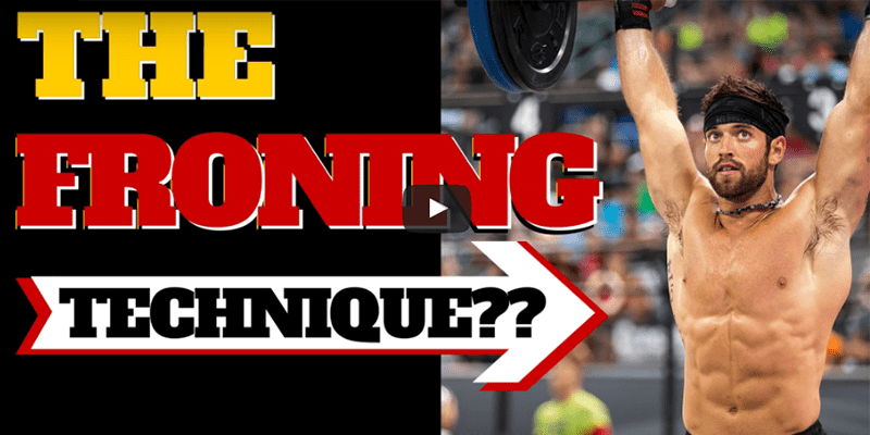 Try This Technique Tip that Rich Froning Uses for Crossfit WODs