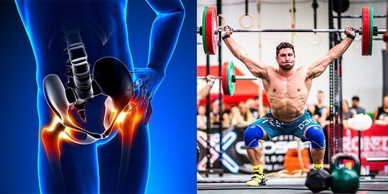 crossfit hip mobility olympic lifting