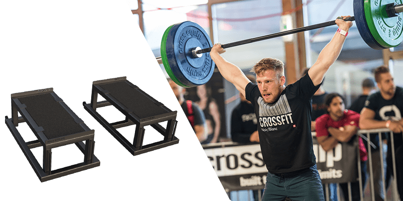 Improve your Olympic Weightlifting with Pull Boxes & Jerk Blocks