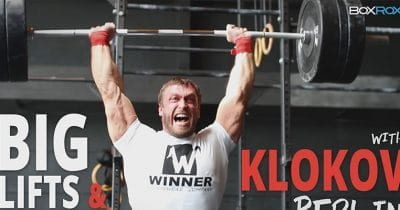 klokov lifts barbell