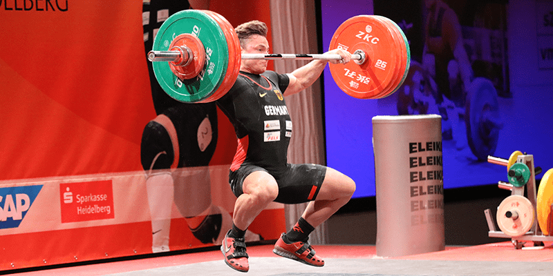 Young German Weightlifter Max Lang Makes 150 kg Snatch Look Easy!