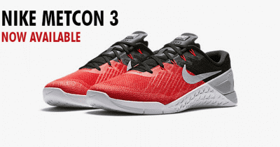 Nike Metcon 3 Red