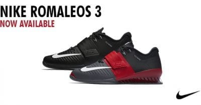 Nike Romaleos 3 Red and Black