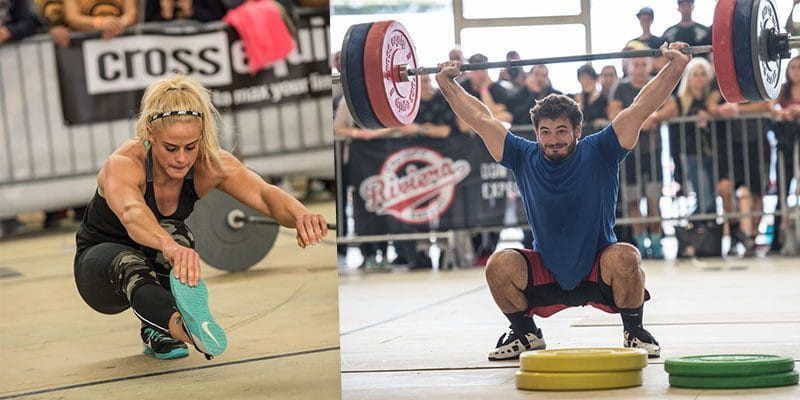 1 City. 2 Days. 4 Workouts. Mat Fraser and Sara Sigmundsdottir Tear up Barcelona!