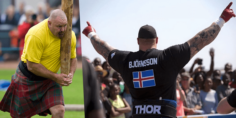 Strongman Documentaries Iceland and Scotland