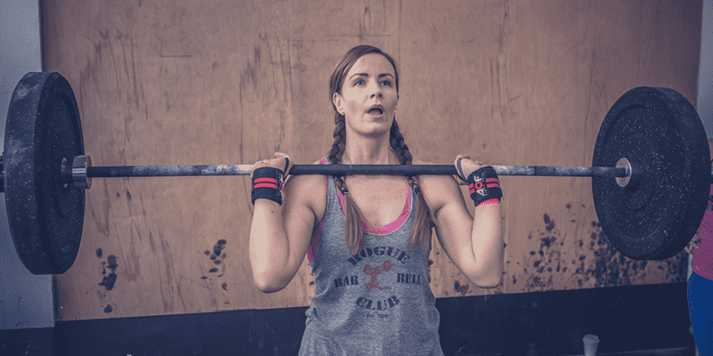 The Open Crossfit Woman