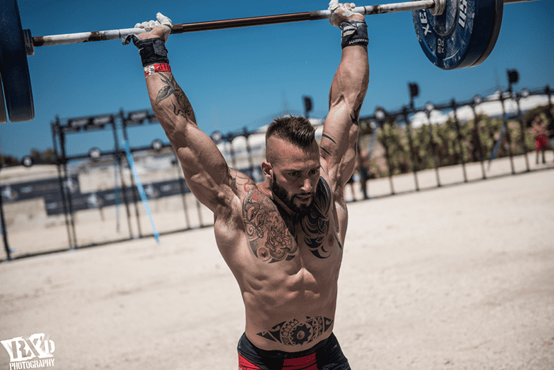 crossfit training gear barbell jerk
