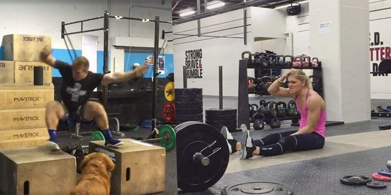 Crossfit Pro Fails from Katrin Davidsdottir and Noah Ohlsen