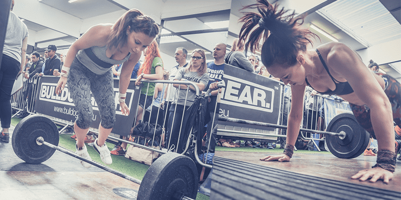 Burpees over the bar crossfit scaling