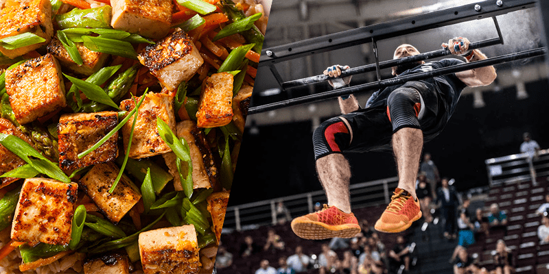 bar muscle up tofu post workout protein sources