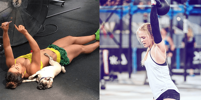inspiring crossfit girls thuri brenda