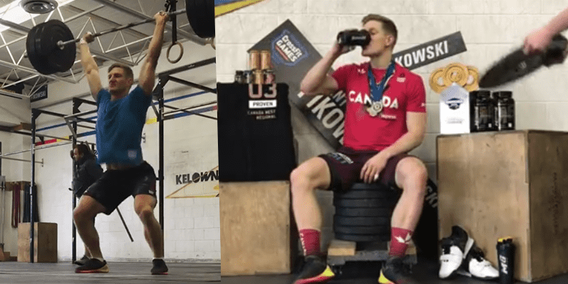 Challenge Brent Fikowski in a Barbell Conditioning Workout
