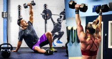 crossfit dummbell exercises